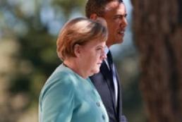 Обама и Меркель призвали Украину и Россию начать переговоры