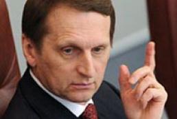 У Держдумі запевнили, що підтримають вибір Криму і Севастополя