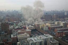 На Манхэттене взорвался жилой дом