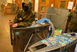 В Киевсовете из-под полы продают оружие