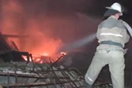 В Харькове взрыв уничтожил нежилой дом