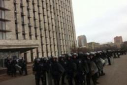 Милиция открыла дело по факту захвата Донецкой ОГА