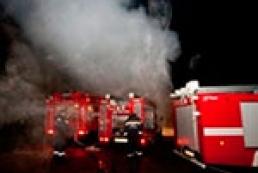 В результате пожара в офисе КПУ никто не пострадал