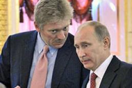 Пєсков: РФ поки не має наміру стягувати з України мільярди, озвучені Путіним