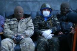 Вооруженные люди захватили райотдел милиции в Славянске