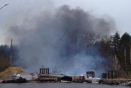 В Славянске проходит антитеррористическая операция