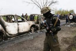 В перестрелке возле Славянска погибли три человека
