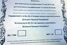 ДНР решила проводить референдум 11 мая