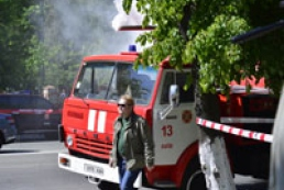 Пожар возле Киевского телецентра тушат до сих пор