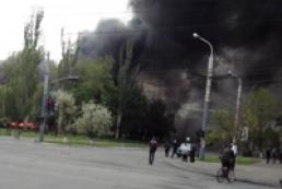 Аваков: В Мариуполе убиты 20 нападавших на горотдел милиции