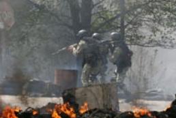 МВД: Блокпосты возле Славянска, Краматорска и Красного Лимана уничтожены