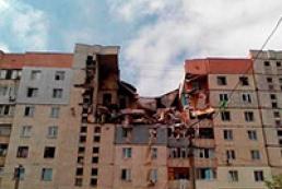 В Николаеве взрыв разрушил несколько этажей жилого дома