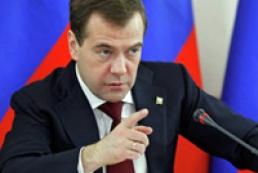 Медведев назвал позицию Украины по газу шантажом