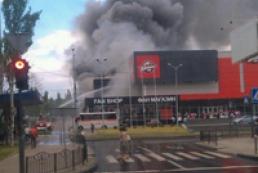 Арену «Дружба» в Донецке перед поджогом ограбили