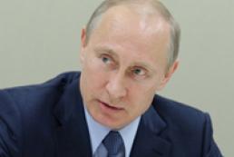 Путин требует прекратить АТО в Украине