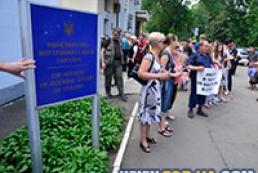 Активісти Майдану прийшли захищати Авакова від мітингувальників під МВС