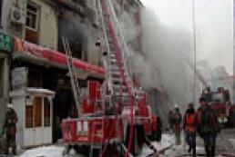 В Москве сгорело общежитие