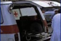 В Москве грузовик протаранил машину «скорой помощи»