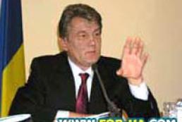 Ющенко призвал сохранить традиции празднования Рождества