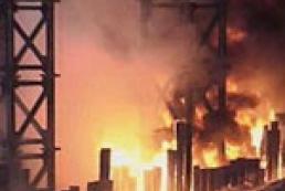В Нью-Йорке взорвался бензовоз