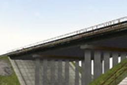 В Подмосковье из-за мороза лопнул мост