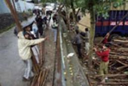 Пакистанский город Ханг подвергся ракетному обстрелу