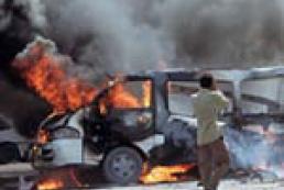 В Багдаде взорвался заминированный автомобиль